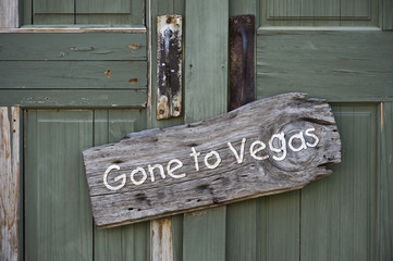 Gone to Vegas.