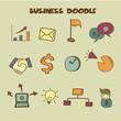 business doodle icon