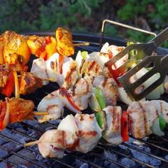 Grillen Schaschlik - barbecue shashlik 03