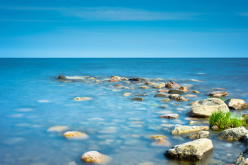 Rocks on the coastline