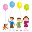 子供と風船