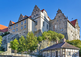 Castle in Quedlinburg, Germany