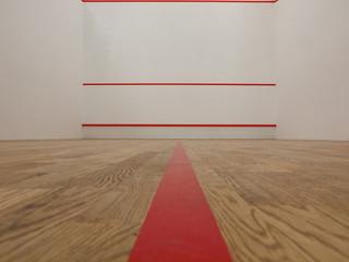 White squash court