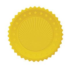 Gold Seal Badge