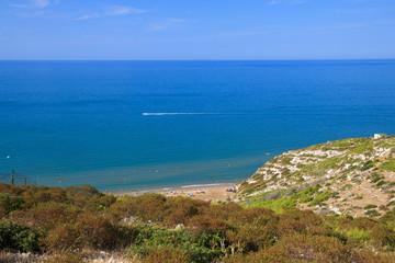 litorale di Peschici (Gargano)