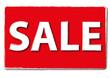 Sale Angebots Preis Werbung rot