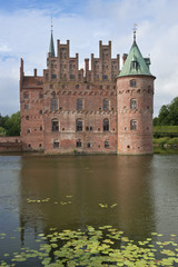Egeskov Slot in Denmark