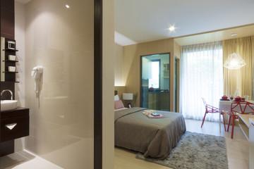 small condominium room