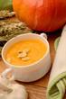 Hokkaido pumpkin cream soup