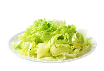 Iceberg lettuce salad