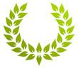 Lorbeerkranz grün