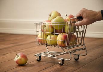 Apfel-Wagen