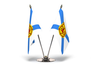 Miniature Flag of Nova Scotia
