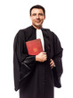 Leinwanddruck Bild - lawyer man portrait