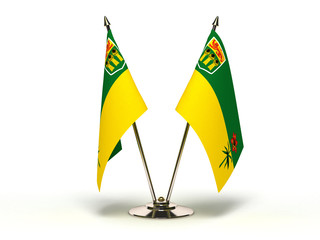 Miniature Flag of Saskatchewan