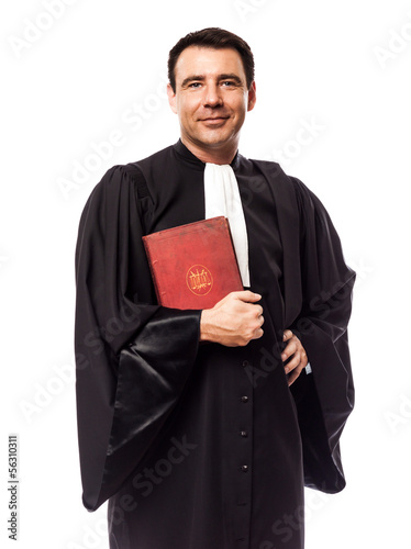 Leinwanddruck Bild lawyer man portrait