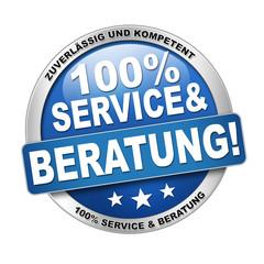 100% Service und Beratung