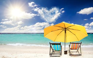 Karibische Romantik: Einladung zu Flitterwochen