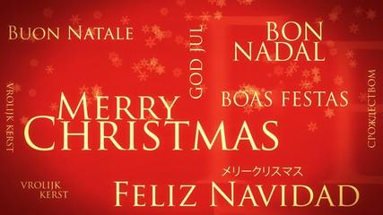 Buon Natale - parole che si compongono