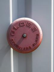 Fire sprinkler alarm outdoor