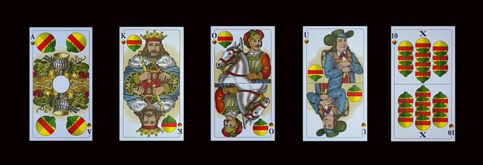 Schafkopf-Tarock - Trumpfkarten-Schellen