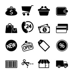 Market Icons Set