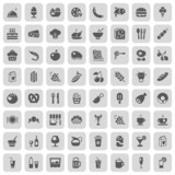 Fototapety food & drinks iconset