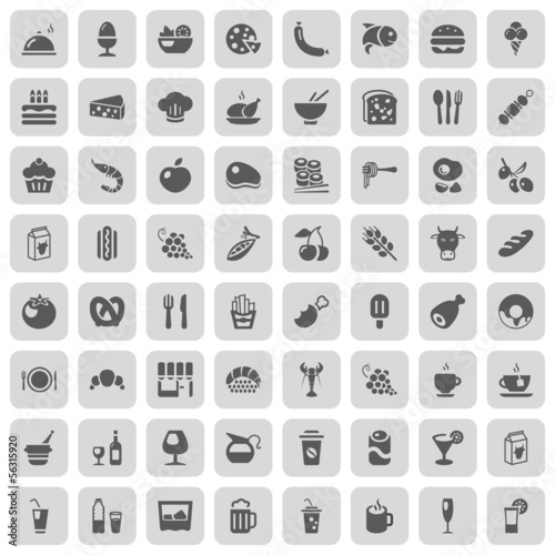 food & drinks iconset
