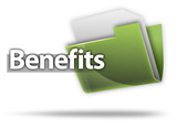 "3D Style Folder Icon ""Benefits"""