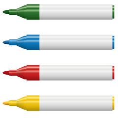 Textmarker geöffnet - 4 Farben