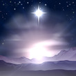 Christmas Star of Bethlehem Nativity - 56318122