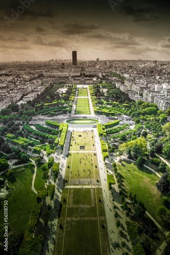 panorama di Parigi dallaTour Eiffel