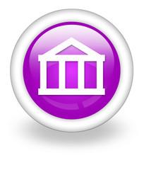 """Violet Icon """"Bank"""""""