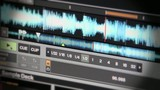 Digital DJ Software playing mp3 Music, Waveform Filter FX BPM