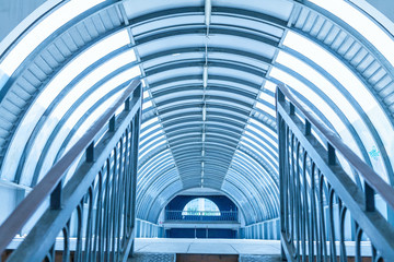 Modern walkway interior