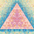 Geometric Abstract Background - Vector Pattern
