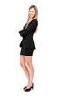 Full length businesswoman