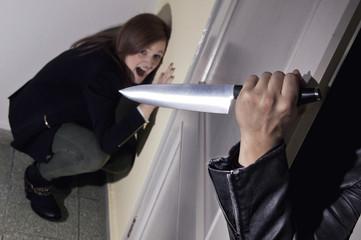 Murder behind the Door