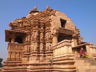 India temple Khajuraho
