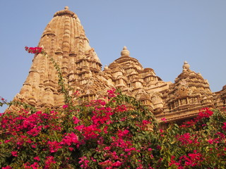 Temple in India Khajuraho