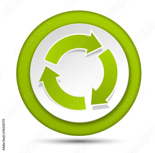 Button grün Pfeile