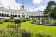 Leinwanddruck Bild - Tivoli gardens in Copenhagen, Denmark