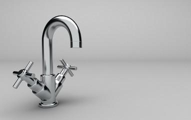 rubinetto 3D - idraulica - sanitari