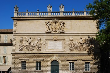 Hotel des Monnaies, palace of conservatory, Avignon, France