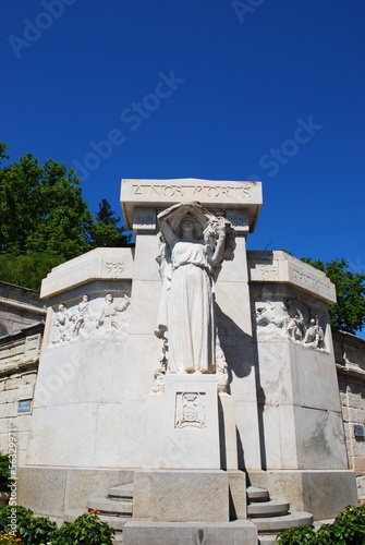 Ancient marble monument, Avignon, Provence, France