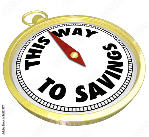 This Way to Savings Compass Sale Clearance Blowout