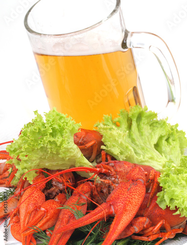Beer crawfish