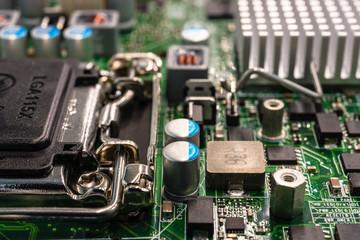 Computer capacitors