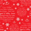 Seamless Christmas Greetings Background