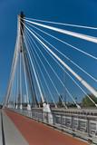 Most wiszący i droga rowerowa - 56335160